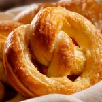 basket of soft pretzels