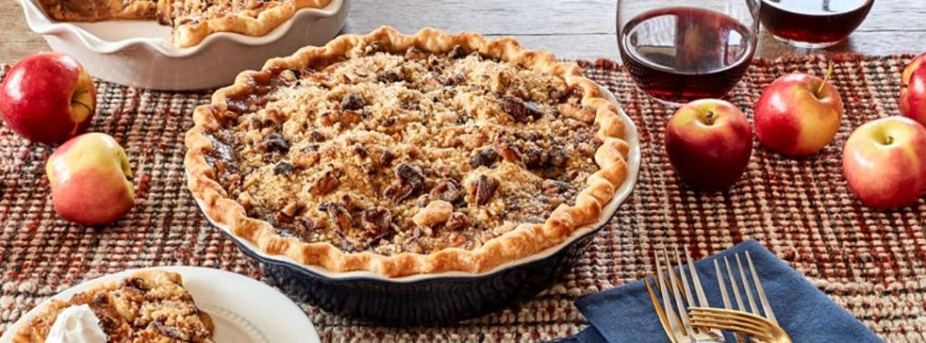 deep dish apple toffee pie