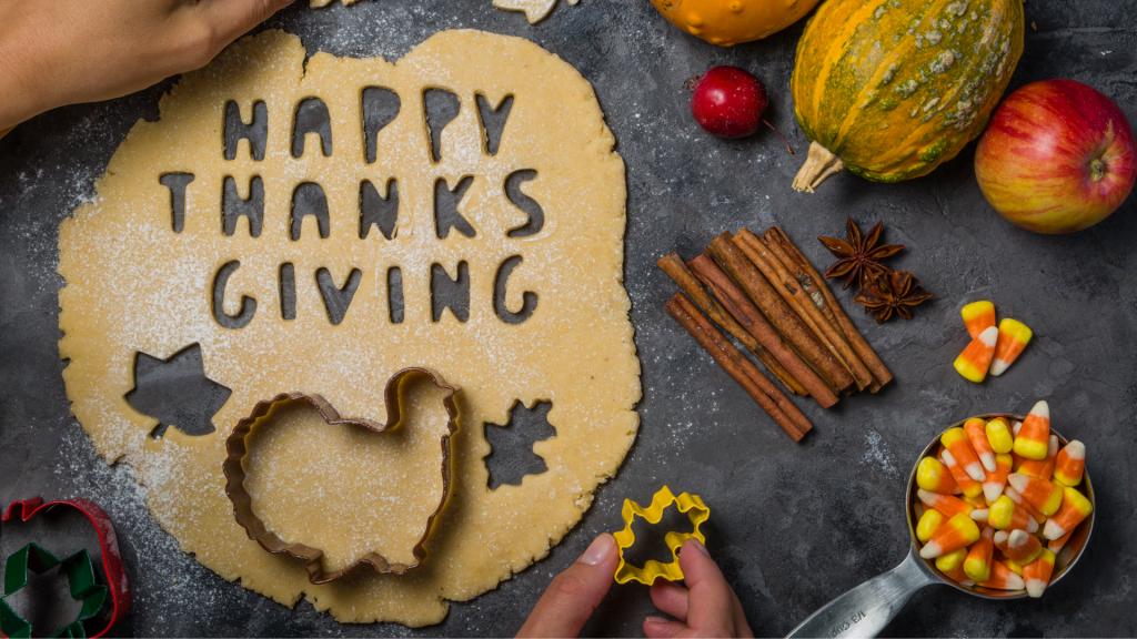 thanksgiving baking stuff